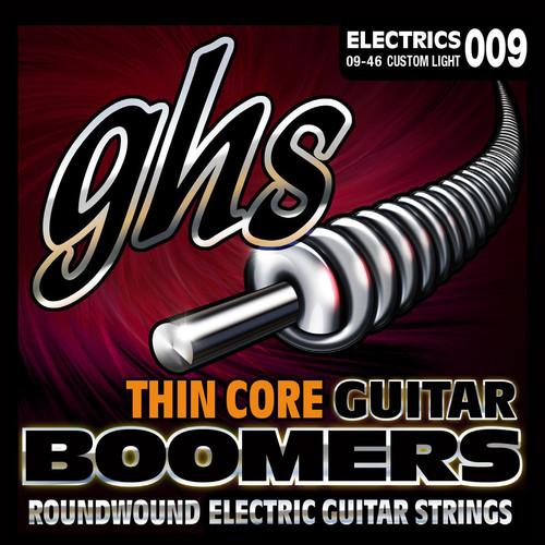 GHS TC-GBCL Thin Core Boomers Custom Light Electric Guitar Strings (6-String Set, 9 - 46)