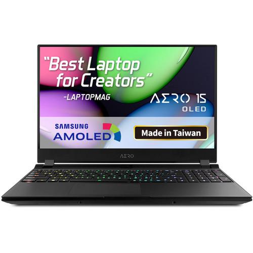 """Gigabyte 15.6"""" AERO 15 OLED Gaming Laptop (Black)"""