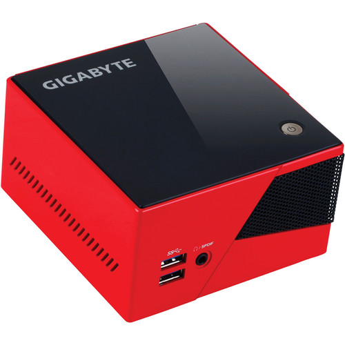 Gigabyte Brix Pro GB-BXi5-4570R Ultra Compact PC Kit (Red)