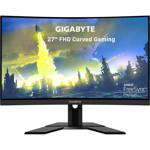 "Monitor de juegos VA Gigabyte G27FC de 27 ""16: 9 curvo de 165 Hz Adaptive-Sync"