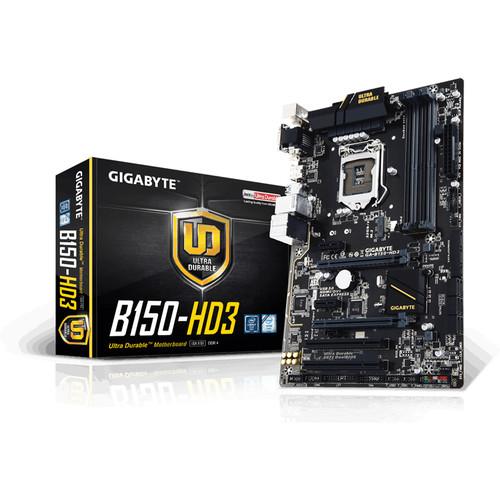 Gigabyte GA-B150-HD3 LGA 1151 ATX Motherboard (rev. 1.0)