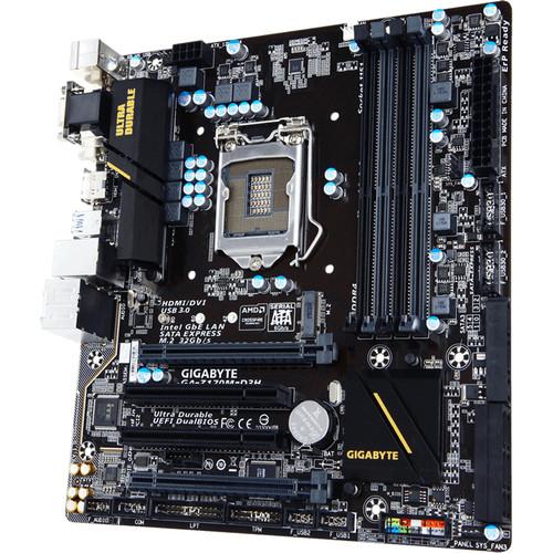 Gigabyte GA-H170M-D3H LGA1151 Micro-ATX Motherboard