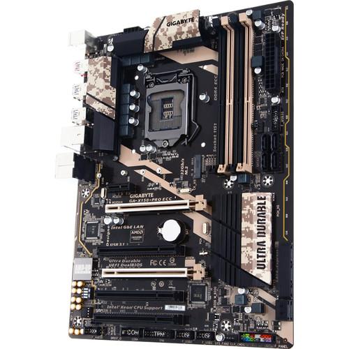 Gigabyte GA-X150-PRO ECC LGA 1151 ATX Motherboard (rev. 1.0)