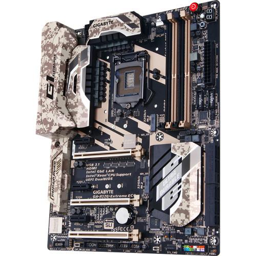 Gigabyte GA-X170-EXTREME ECC LGA 1151 ATX Motherboard (rev. 1.0)