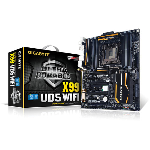 Gigabyte GA-X99-UD5 WIFI Intel X99 Chipset Motherboard