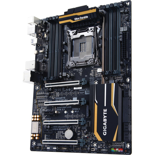 Gigabyte GA-X99P-SLI DDR4 LGA 2011-3 ATX Motherboard (rev. 1.0)