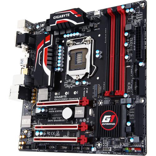 Gigabyte GA-Z170MX-Gaming 5 Micro-ATX Motherboard
