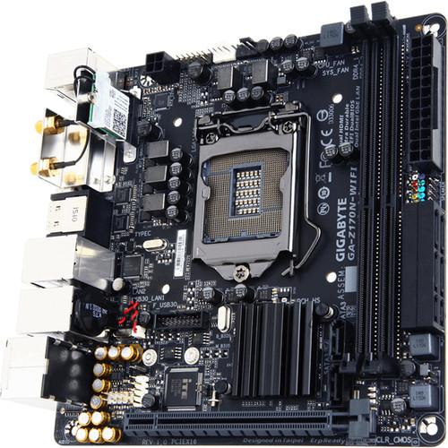 Gigabyte GA-Z170N-WIFI Motherboard (rev 1.0)
