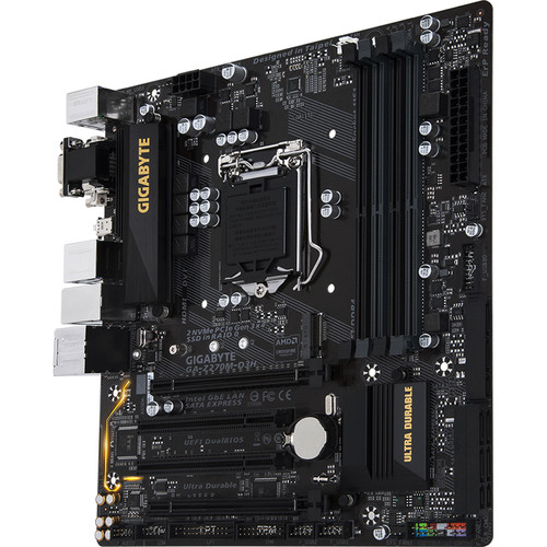 Gigabyte GA-Z270M-D3H LGA 1151 Micro-ATX Motherboard