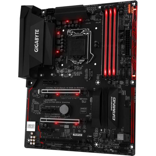 Gigabyte GA-Z270X-Ultra Gaming LGA 1151 ATX Motherboard