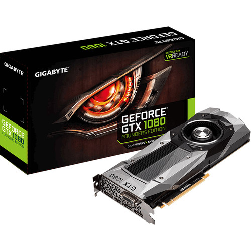 Gigabyte GeForce GTX 1080 Founders Edition Graphics Card