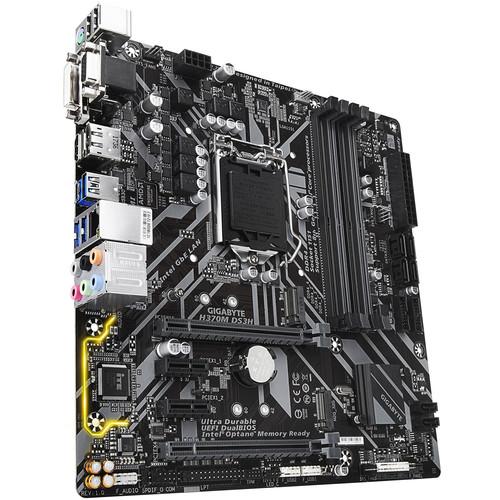 Gigabyte H370M DS3H LGA1151 Micro-ATX Motherboard