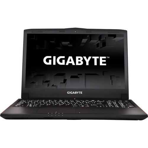 "Gigabyte P Series 15.6"" Gaming Notebook with NVIDIA GeForce GTX 1060 Graphics (Aluminum Black)"