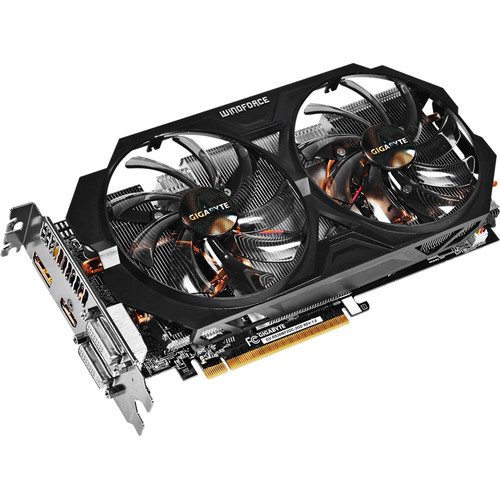 Gigabyte R938WF2OC-2GD AMD Radeon R9 380 2GB GDDR5 Graphics Card