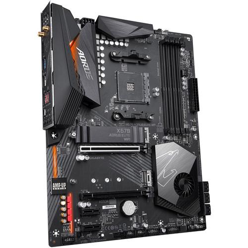 Gigabyte X570 AORUS ELITE WIFI AM4 ATX Motherboard