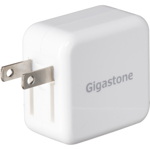 Gigastone GA-7200W 15.5W Dual USB AC Adapter