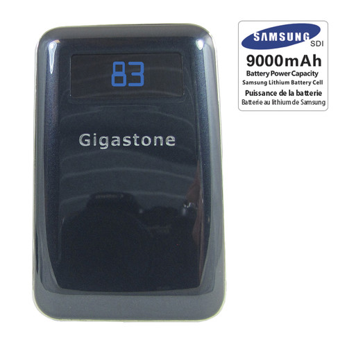 Gigastone Universal Mobile Charger with Dual USB Ports (9000mAh)