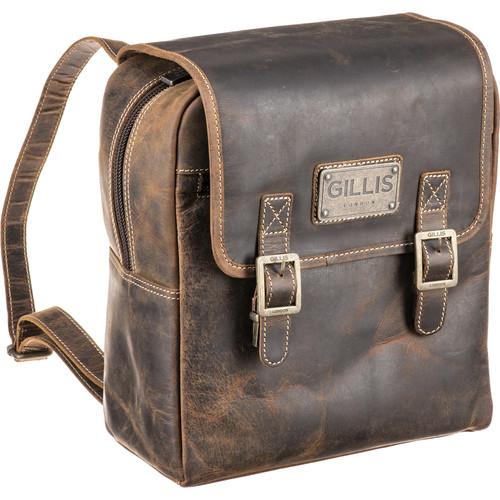 GILLIS LONDON Trafalgar Leather Knapsack (Brown)