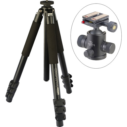 Giottos Classic Series 9214 Aluminum YTL Silk Road Tripod with MH-1301 Pro Series II Ball Head