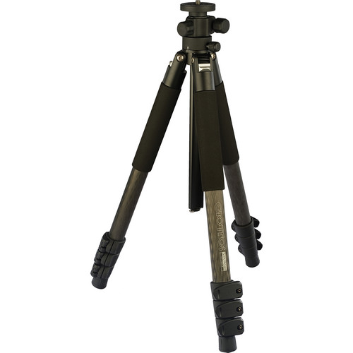 Giottos Pro Series 8314 Carbon Fiber YTL Silk Road Tripod with MH-1301 Pro Series II Ball Head