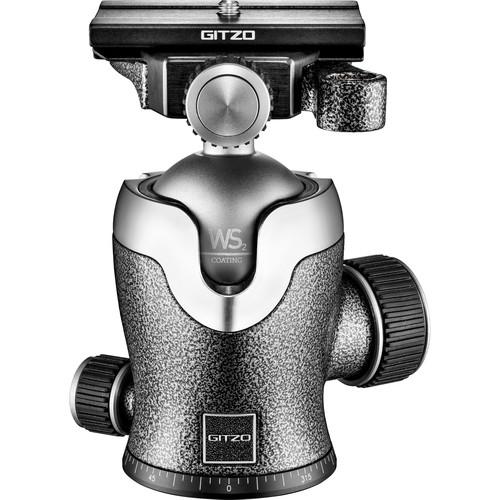 Gitzo GH3382QD Series 3 Center Ball Head with Arca-Type Screw Knob QR Receiver
