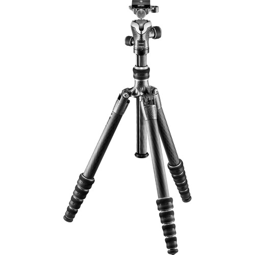 Gitzo GT1555T Series 1 Traveler Carbon Fiber Tripod with Center Ball Head