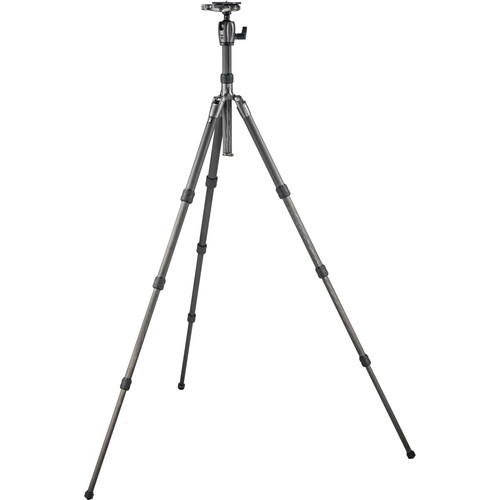 Gitzo Series 2 GK2580TQD Traveler Carbon Fiber Tripod with Series 2 Traveler Center Ball Head
