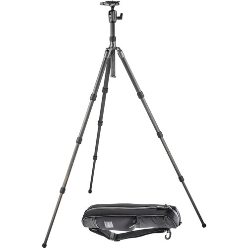 Gitzo Series 2 GK2580TQD Traveler Carbon Fiber Tripod with Ball Head and Padded Bag