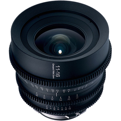 GL Optics 11-16mm T3.0 MKII Wide-Angle Zoom Lens (PL Mount)