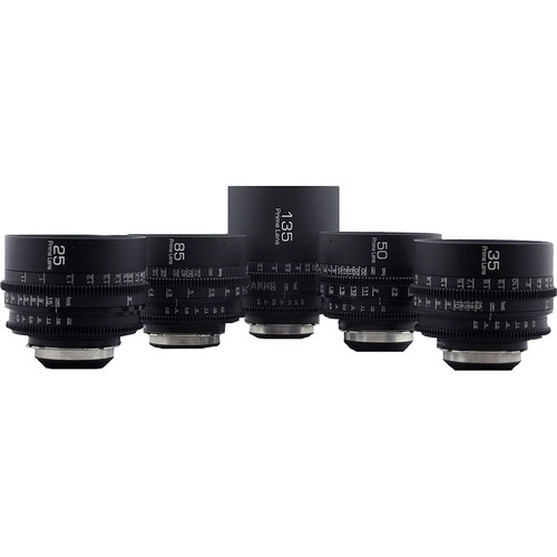 GL Optics Zeiss Contax Super Speed Set (5 Lenses, PL Mount)
