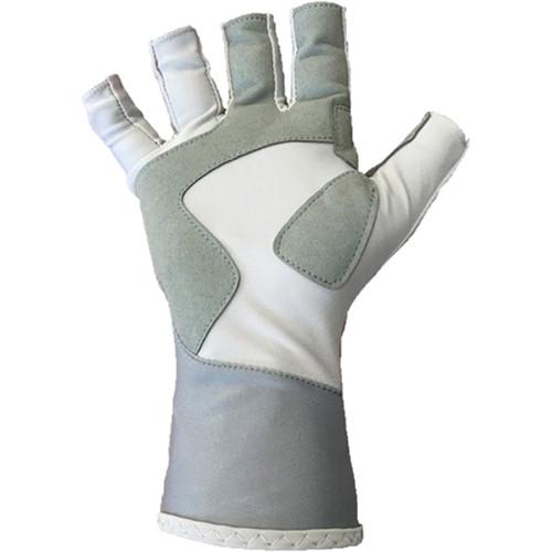 Glacier Glove Islamorada Sun Glove (Gray, Large)