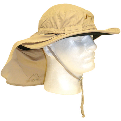 Glacier Glove Boonie Hat for Sun Protection (One Size, Khaki)