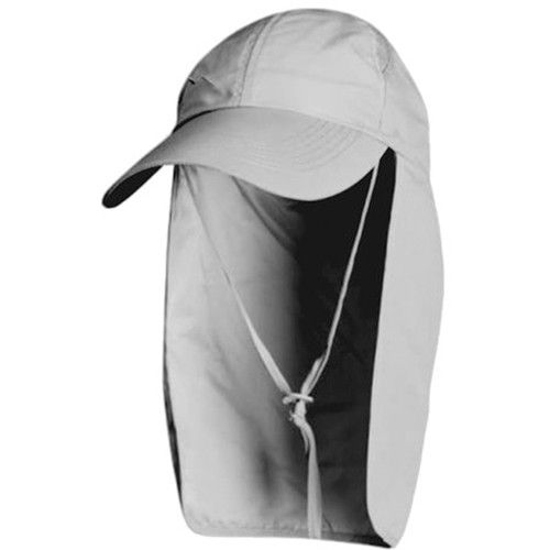 Glacier Glove Mojave Sun Protection Hat (One Size, Gray)