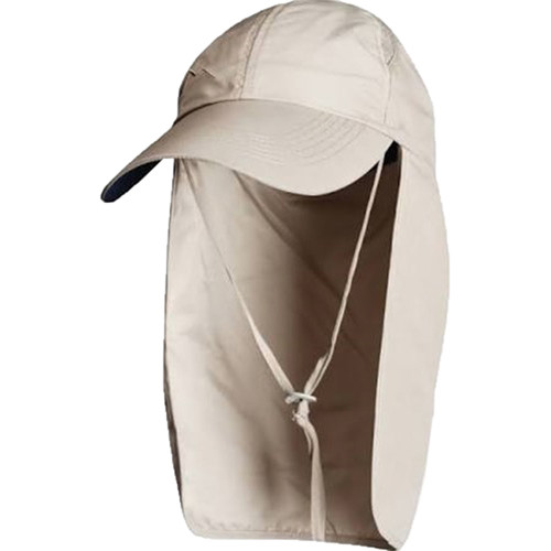 Glacier Glove Mojave Sun Protection Hat (One Size, Khaki)