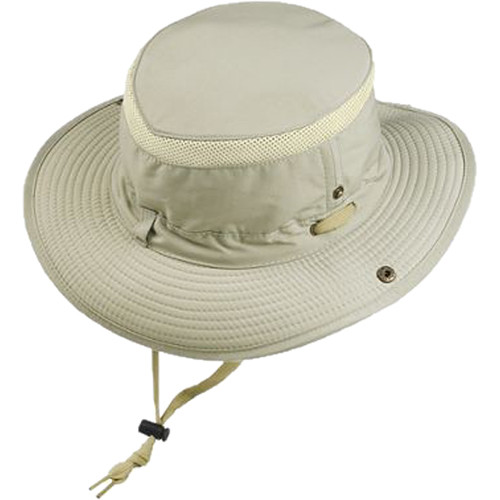 Glacier Glove Outback Hat (Medium, Khaki)