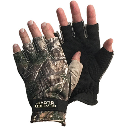 Glacier Glove Midweight Pro Hunter Glove with RealTree Xtra (Extra-Large)