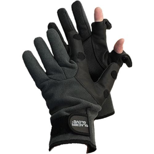 Glacier Glove Hybrid Slit Finger Fleece Glove (Medium)