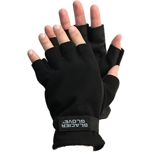 Glacier Glove Alaska River Fingerless Fleece Glove (Small)