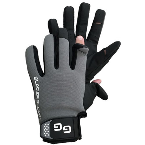 Glacier Glove Lightweight Pro Angler Slit Finger Glove (XXL)