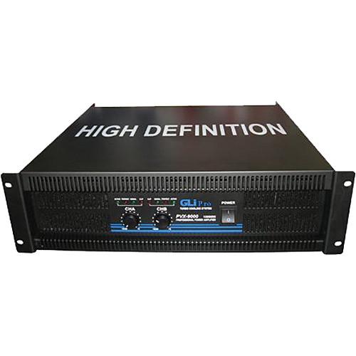 Gli pro PVX-9000 - Stereo Power Amplifier (10,000 W Max)