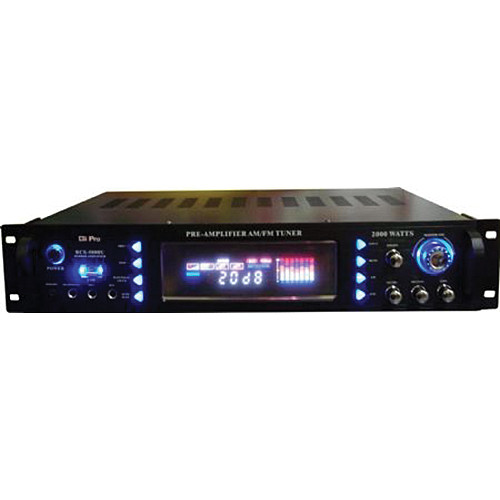 Gli pro RCX-5000USB - Hybrid Karaoke Receiver and Amplifier with USB Input