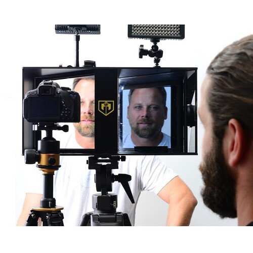 Glide Gear Face-2-Face Interview Periscope & Teleprompter Hybrid