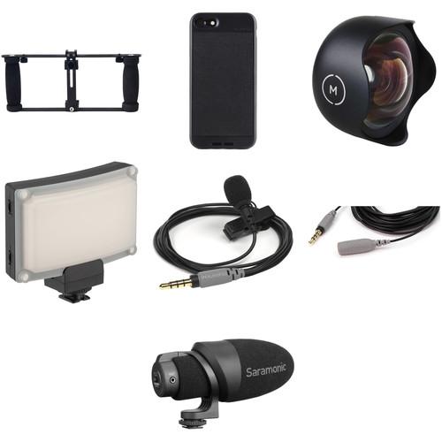 Glide Gear Professional Smartphone Video Camera Rig Kit