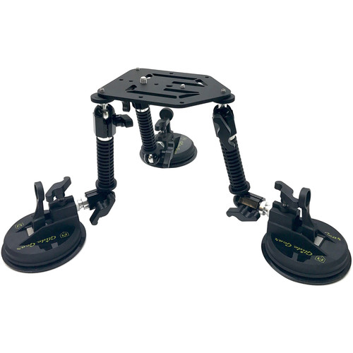 Glide Gear LayLow Camera Suction Mount for Vehicle