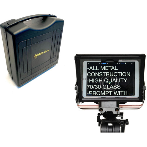 Glide Gear TMP-500 Tripod & Shoulder Mount Tablet/Phone Teleprompter