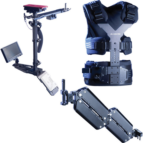 Glidecam X-20 Professional Camera Stabilization System with V-Mount Battery Plate