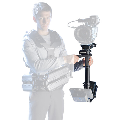 """Glidecam X-30 Sled with 7.7"""" HD Monitor (V-Mount)"""
