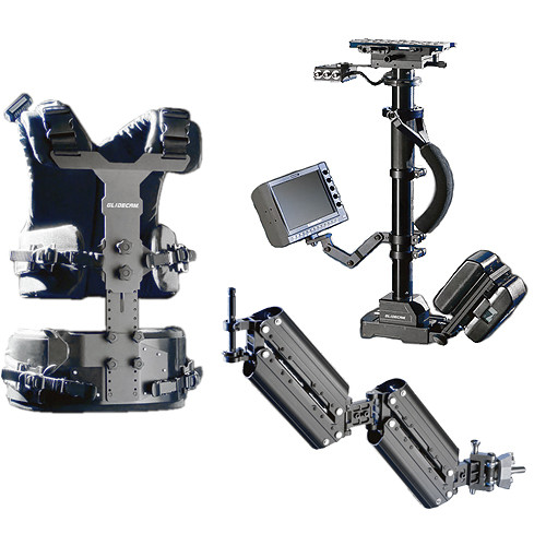 Glidecam X-30 Professional Camera Stabilization System with V-Mount Battery Plate