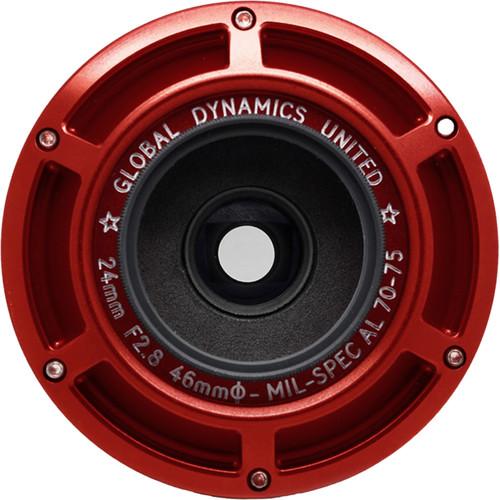 GLOBAL DYNAMICS UNITED 24mm f/2.8 Electronic-Only Cine Lens (EF Mount)