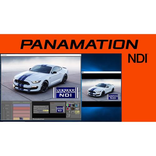GlobalStreams Panamation 5.0 NDI HD paint software